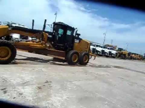 Caterpillar AUTOGREDERE 140M2 equipment video gMNResqekE8