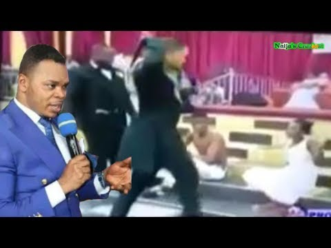 Pastor Obinim Carries Out Jungle Justice In Church On Members Who Fornicate