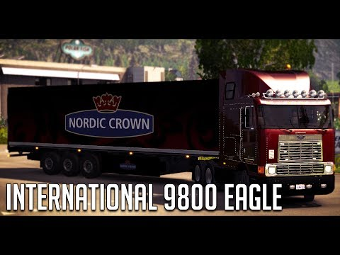 INTERNATIONAL 9800 EAGLE ETS2 1.28.x