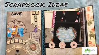 Hi everyone! Here is the walk through of the Scrapbook which gives you the gifting idea for greeting someone special in very...