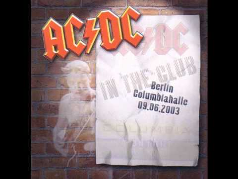 AC/DC – Back In Black (Live Berlin 2003) HQ