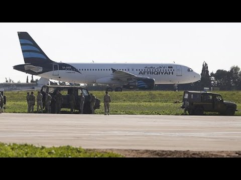 Αεροπειρατεία σε λιβυκό αεροσκάφος