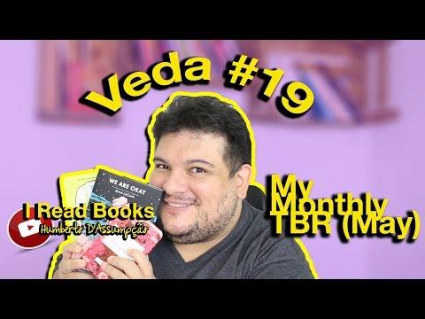 #VEDA 19 - May #TBR  - I Read Books -  Eu Leio Livros - Legendado