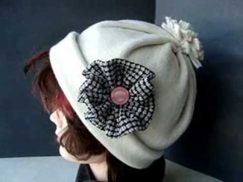SEWING, Make a very easy FLEECE HAT.