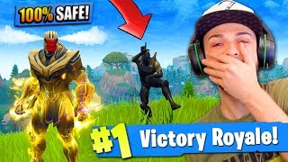 Download Video THANOS *TROLLING* in Fortnite: Battle Royale! (Can't be killed) MP3 3GP MP4