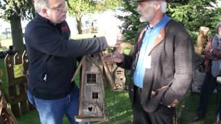 #632 Gartentage Lindau 2012 - Handgefertigte Vogelhäuschen Teil 2