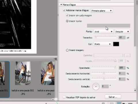 Adobe Photoshop CS5: Como criar PDF e aplicar logomarca através do Bridge CS5