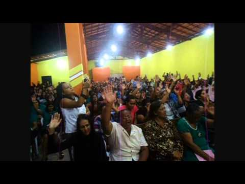Irmãs Andrads na Assembléia de Deus em IBIAI MG / Congresso