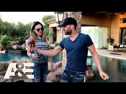 Criss Angel: Trick'd Up - Apple Crush with Criss and Belinda   A&E