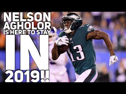 Nelson Agholor Will Play For The Eagles In 2019. Will Keep His 9.3 Cap Hit.
