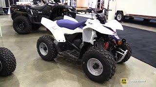 4. 2014 Suzuki Quad Z90 Sport ATV - Walkaround - 2014 Toronto ATV Show