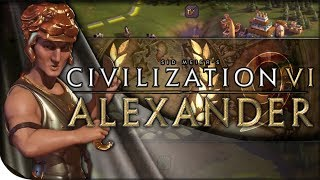 Let's play Civilization VI! This series is the first to feature Alexander of Macedon on the channel, and we're commemorating it by...