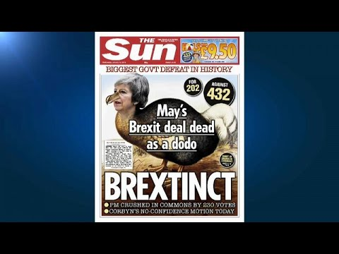 Brexit: Ο ευρωπαϊκός τύπος για τη συντριπτική ήττα της Τερέζα Μέι…