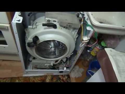 Стиральная машина ремонт своими руками замена подшипника