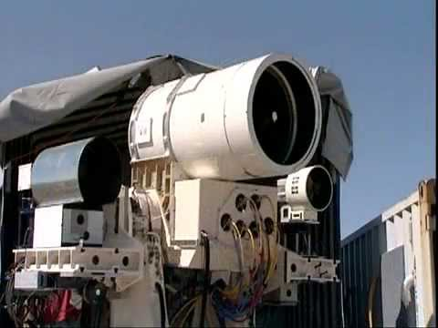 Navy - The U.S. Navy has unveiled a futuristic new ship mounted infrared laser weapon that officials say could be used to shoot down drones and disable other ships,...