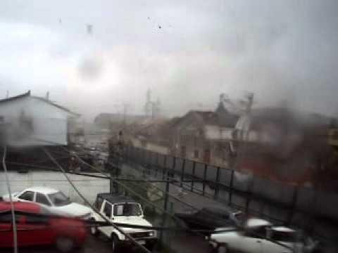 tornado y tormenta villarica