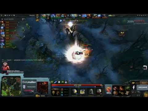 Tinker vs Fnatic - Dota 2 Champions League - G1