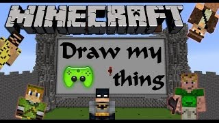 MINECRAFT DRAW MY THING # 3 - Das ist wie Draw-Something «» Let's Play Minecraft | HD