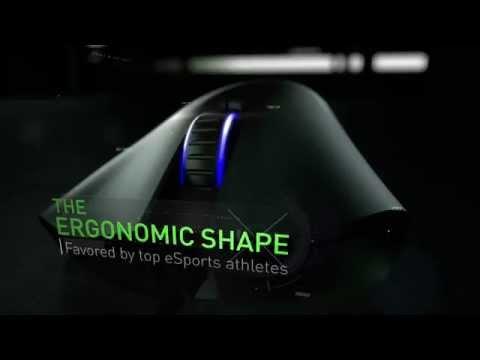 Razer DeathAdder Chroma Gaming Mouse - Multi-Colour Light (Button 10,000dpi Optical Sensor) (RZ01-01210100-R3A1)