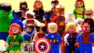 Lego Avengers and X-Men - Edge of Extinction