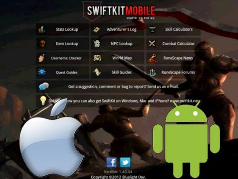 Video of RuneScape SwiftKit Mobile