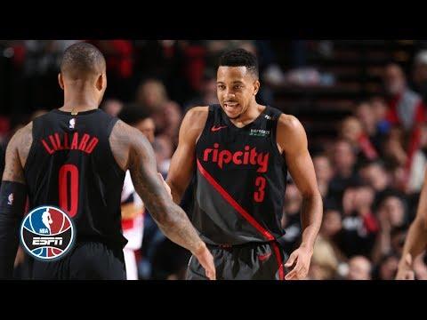 Video: Damian Lillard, CJ McCollum lead Blazers to win vs. Devin Booker, Suns | NBA Highlights
