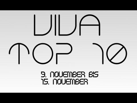 VIVA Top 10 (9. November - 15. November 2012)