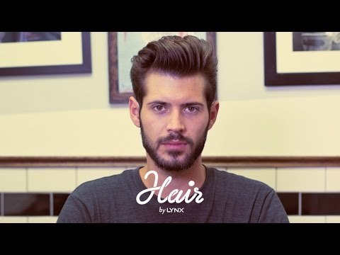 Hair by Lynx – How to Style a Pompadour | Men's Hairstyles 2014
