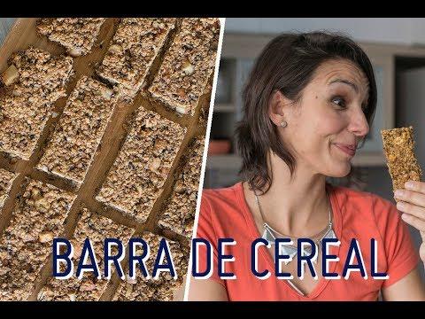 Nutricionista - BARRINHA DE CEREAL SAUDÁVEL E ECONÔMICA