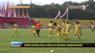Setelah diperkenalkan secara resmi pada Senin (24/4), Marquee Player Semen Padang, Didier Zokora langsung menjalani latihan perdana bersama Kabau Sirah. Dalam sesi ini Zokora belum bisa tampil maksimal karena mengalami lecet pada kakinya.