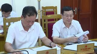 Họp BTV Huyện ủy - Kiên quyết thực hiện nghiêm kế hoạch đảm bảo an toàn giao thông đường thủy