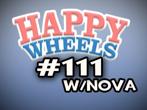 Happy Wheels w/Nova Ep.111 - WRECKING BALL ACTUALLY HELPS? Video