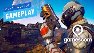 6 Minutes of Outer Worlds Gameplay - Gamescom 2019 by IGN