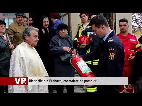 Bisericile din Prahova, controlate de pompieri