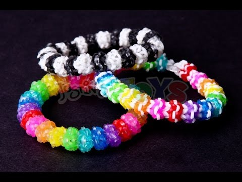 Gumdrop Bracelet – Advanced Design on the Rainbow Loom