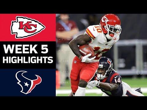Chiefs vs. Texans | NFL Week 5 Game Highlights - Thời lượng: 7:57.