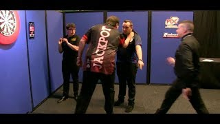 Video Adrian Lewis vs. Jose Justicia PUSHING Incident - 2018 PDC Pro Tour MP3, 3GP, MP4, WEBM, AVI, FLV Desember 2018