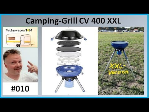 #010 Camping Grill Campingaz CV400 / Wohnwagen TOM