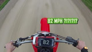 4. Honda CRF150R Top Speed