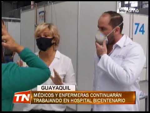 Municipio cerró centro médico temporal para pacientes de covid19