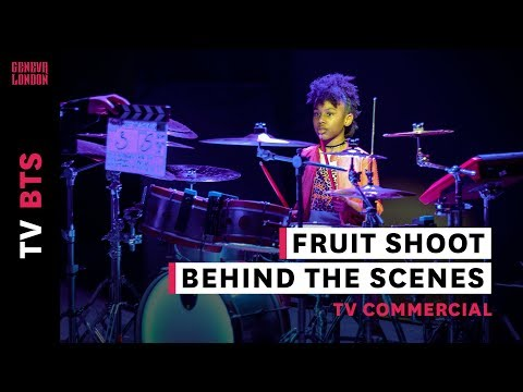 Behind The Scenes Commercial | Robinsons Fruit Shoot Drum Video | Geneva London