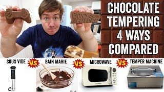 Chocolate Tempering: 4 different ways compared by  My Virgin Kitchen