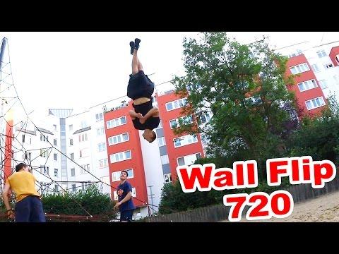 PARKOUR Lifestyle VLOG #14 - Wallflip 720 (видео)