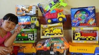 Xe tải , máy xúc , xe cẩu đồ chơi cho bé