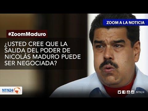 ¿Puede ser negociada la salida de Nicolás Maduro?