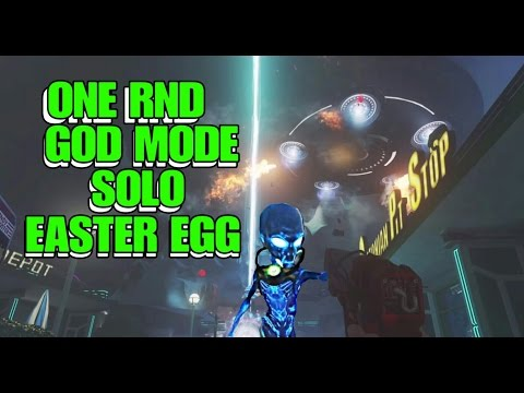Zombies Spaceland God Mode One Round Boss Fight!!!!