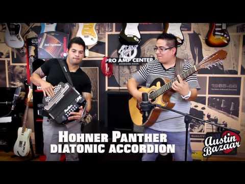 Hohner Panther Accordion Demo   AJ Castillo [Subtítulos Españoles]