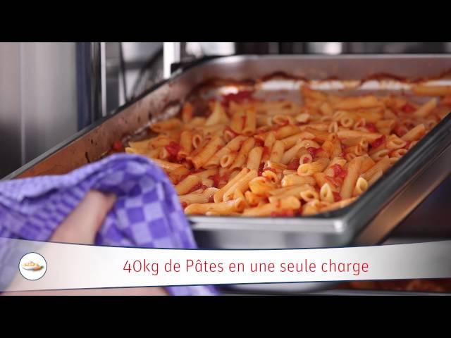 14 - Rational - SCCWE - Pâtes à la sauce tomate