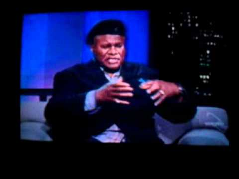 GEORGE WALLACE (comedian) on Travis Smiley show...some