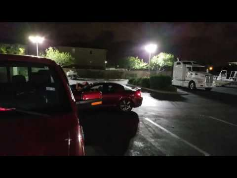 Hangry Girlfriend Has Meltdown, Refuses to Get Off Hood of Boyfriend's Car Till She Gets Food